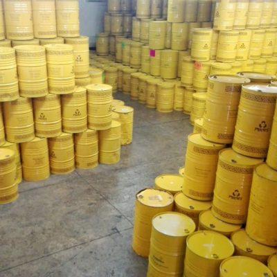 Entrepôt de miel au Mexique