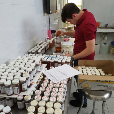 Preparations for the sample shipment