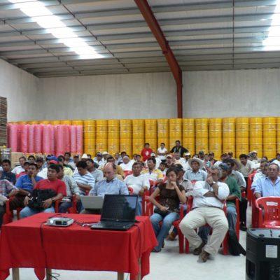 Entrenamiento orgánico de apicultores en México